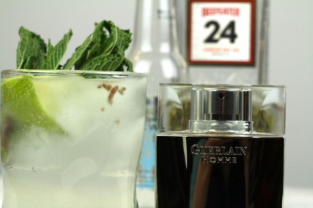 Guerlain Homme, gin tonic
