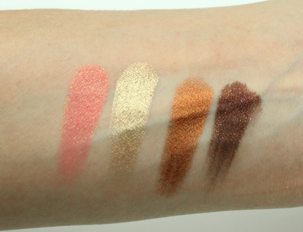 colourpop cosmetics shadow swatches