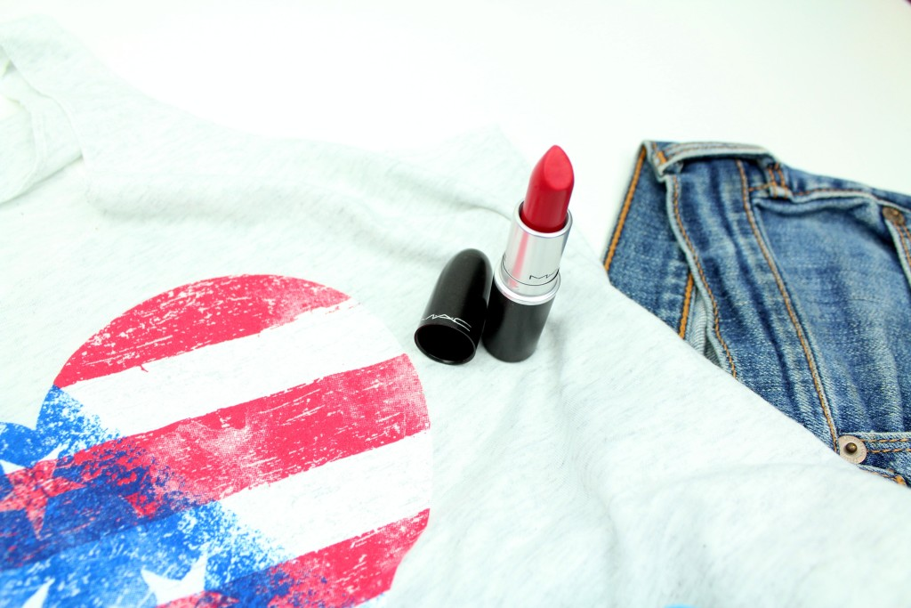MAC damn glamorous 4th of July