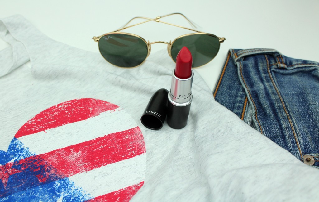 MAC damn glamorous 4th of July Ray Ban