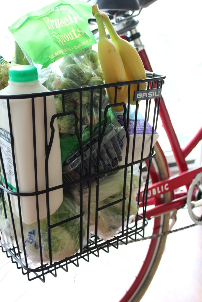 basil memories bike basket