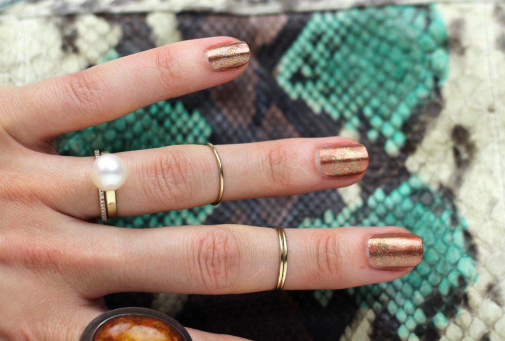 verdigris manicure theseventhsphinx